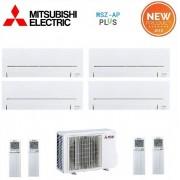 Mitsubishi Climatizzatore Condizionatore Mitsubishi Electric Quadri Split Inverter Serie Ap 9+9+9+9 Con Mxz-4e83va