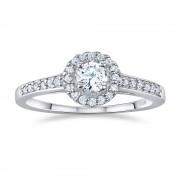 Silvego Stříbrný prsten AMELIA s Brilliance Zirconia - FNJSM001
