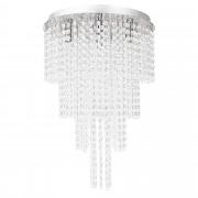 PremiumXL - [lux.pro] Stilska stropna svjetiljka - Venezia - krom / srebrno