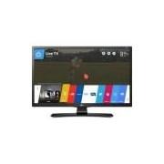 Tv 24 smart lg 24mt49s-ps led hd conversor digital wi-fe integrado usb hdmi webos 3.5 screen share -