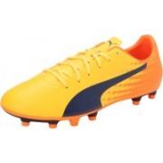 Puma evoSPEED 17.5 FG Football Shoes For Men(Orange)