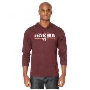 47 College Virginia Tech Hokies End Line Club Hoodie Dark Maroon