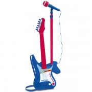 Chitara electronica Bontempi cu microfon pe stativ
