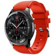 eses 1530001034 silikonski remen za Samsung Galaxy Watch 46 mm/Samsung Gear S3, crveni