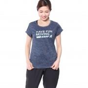 【SALE 25%OFF】ディズニー Disney レディース フィットネス 半袖 Tシャツ DN-3F20008TSMK レディース
