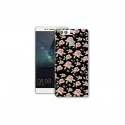 Funda Case Huawei Y5Ii - Flores Negro