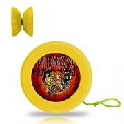 Guns N Roses Yo Yo Professional Responsive Trick Yo-Yo Plastic Yoyo Ball Bearing Spinning String Spin YOYO Toys