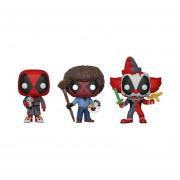 Deadpool Bob Ross, Bedtime Y Clown Funko Pop Marvel Pelicula Deadpool