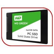 Жесткий диск 240Gb - Western Digital WD Green WDS240G2G0A