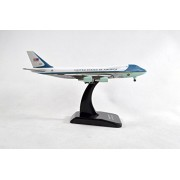Hogan Air Force One USAF Boeing VC25 747-200 Diecast Airplane Model With Gear & Stand 1:500 Scale Part# 9437