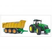Bruder 1173 Tracteur John Deere 7930 Avec Benne Joskin