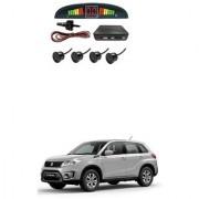 KunjZone Car Reverse Parking Sensor Black With LED Display Parking Sensor For Maruti Suzuki Grand Vitara