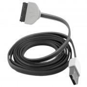 Cabo 30-pinos Forever - iPhone 4/4S, iPad 3, iPod Nano 6G - Preto