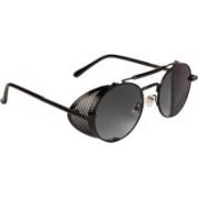 Farenheit Wrap-around Sunglasses(Grey)