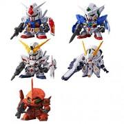 Gundam Figure: Super Deformed Mobile Suit Figure Series 01 ~ Set of Five Figures