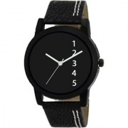 idivas 116 Black Attractive Dial Watch For Boy And Girl