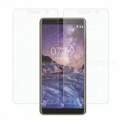 protector de pantalla de vidrio templado dayspirit para nokia 7 plus - transparent (2PCS)