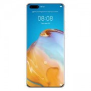 Смартфон Huawei P40 Pro, Silver Frost, ELS-NX9, 6.58 инча OLED, Kirin 990 5G, 50MP Ultra Vision камера + 40MP кино камера, 6901443376957