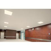 Süllyesztett LED panel világítás négyzet alakú 60 x 60 x 0,9 cm 48W természetes fehér