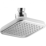 Touch 5X5 Inch Square Silver Overhead Shower