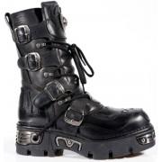 boty New rock - Vampire Boots (107-S3) Black