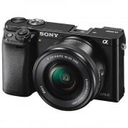 Sony A6000 negru kit cu sel 16-50 + Bonus card Sony SDHC 32 GB