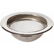 Skywalk Stainless Steel Sink Kitchen Drain Basin Basket Filter (Silver)