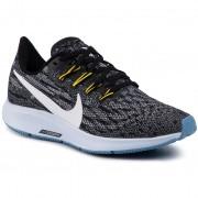 Pantofi NIKE - Air Zoom Pegasus 36 AQ2210 010 Black/White/Half Blue