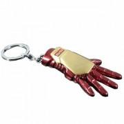 Trunkin Iron Man Hand 3D Red Golden Keychain