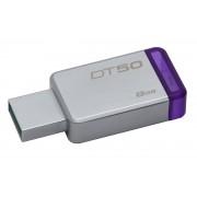 Kingston Pen Drive Kingston 8GB DataTraveler 50 (Metal/Purple) USB 3.0 -DT50
