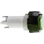 Lentila pentru lampa semnalizare RAFI (cod produs 720356), verde (transparent)