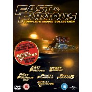 Universal Pictures Fast & Furious 1-6 With Sneak Peek