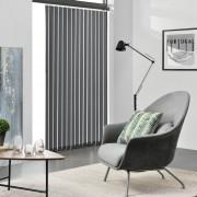 [neu.haus]® Cortina vertical de laminilla - persiana - 120x250 cm - Gris