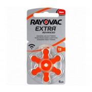 Varta Rayovac 40000 - 6 buc Baterii în aparate auditive 13 1,45V