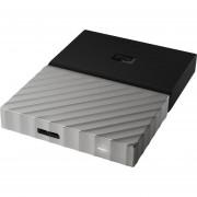 Disco duro externo WD My Passport Ultra 1TB portátil negro-plata metálico 3.0 encriptación