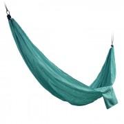 Sunfield Nylon Hamaca Columpio color solido para dos personas - verde oscuro