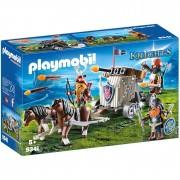 Playmobil knights squadra d'assalto con balestra