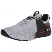 Under Armour HOVR Apex Cross Trainer para Hombre, Mod Gris (110)/Negro, 14 US