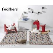 Textil Mora Alfombra infantil Feathers de Textil Mora - La TIenda HOME