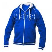 geschenkidee.ch Jahrgangs-Jacke für Frauen blau, Grösse XL
