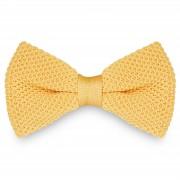 Tailor Toki Noeud papillon tricoté jaune clair