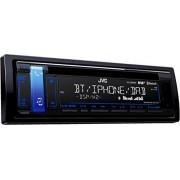 JVC KD-DB98BT Bluetooth Black car media receiver - car media receivers (DAB+,FM,LW,MW, 87.5 - 108 MHz, 153 - 279 kHz, MOSFET, 2 lines, LCD)