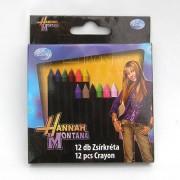 Hannah Montana zsírkréta - 12 darabos