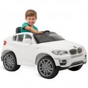 Carro Elétrico BMW X6 Branca 6V com Controle Remoto