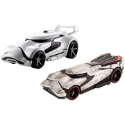 Hot Wheels Star Wars: The Force Awakens Character Car 2 Pack, First Order Stormtrooper Vs. Captain Phasma