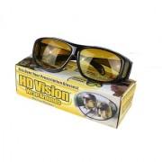 HD Real Night Club Best Qulity Wrap Arounds Night Driving Glasses HD Glasses 1Pcs.