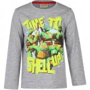 Ninja Turtles Grijze Ninja Turtles shirt voor kids