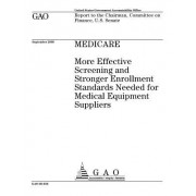 Gao-05-656 Medicare: More Effective Screening and Stronger Enrollment Standards Needed for Medical Equipment Suppliers