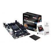 Combo Actualización ASRock Amd A4 6300 Fm2 Solido 240gb.-Negro