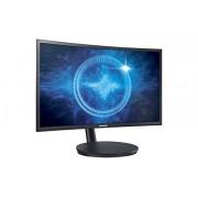 """Samsung Electronics LC24FG70FQNXZA 24"""" Screen CRT Monitor Negro Soporte de Pared para visualización Plana, Pantalla 27"""